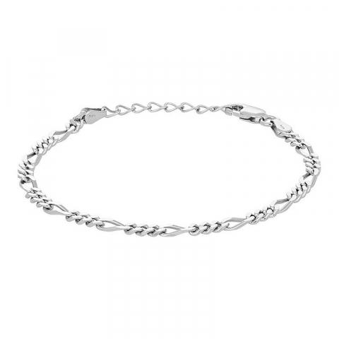 Nordahl andersen armband i rhodinerat silver