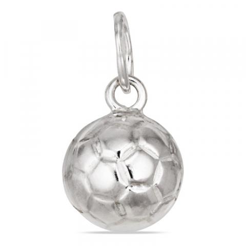 Fint fotboll hängen i silver
