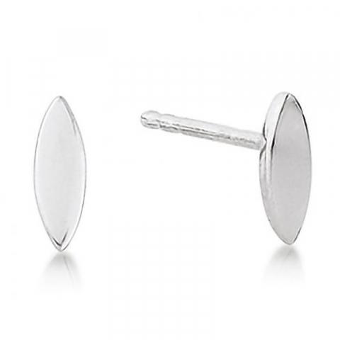 Små Aagaard silver örhängen i silver