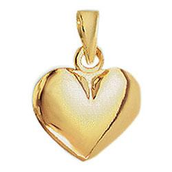 Aagaard hjärta hängen i 14 karat guld