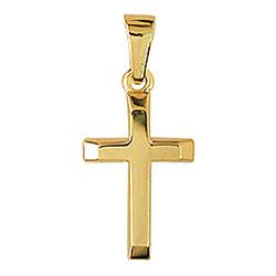 Aagaard kors hängen i 14 karat guld