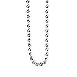Aagaard kulhalskedja i rhodinerat silver