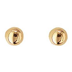 4 mm Aagaard örhängen i 14 karat guld