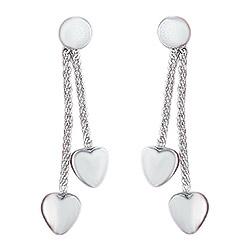 Aagaard hjärta örhängen i silver