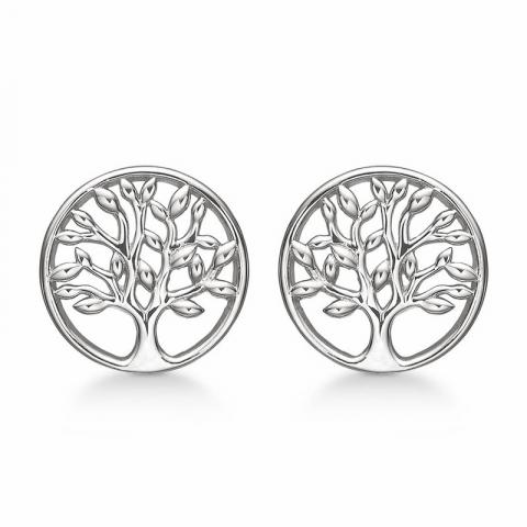 Støvring Design livets träd örhängen i silver