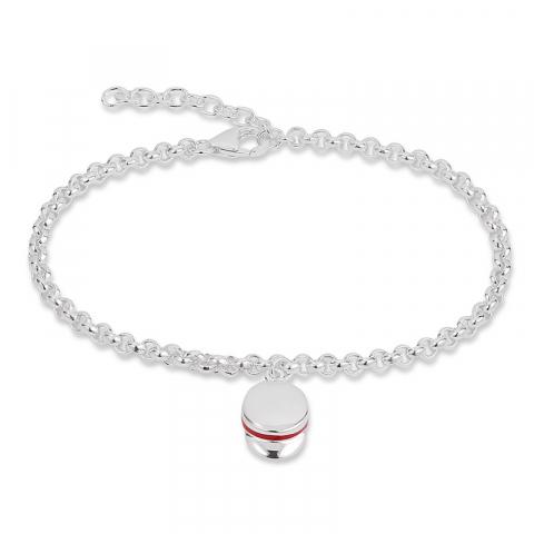 Fin armband i silver