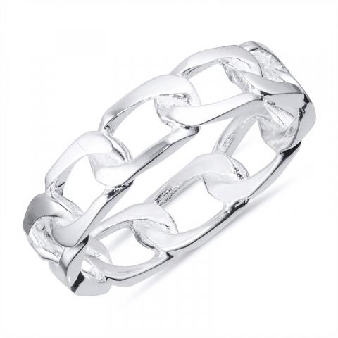 panser ring i silver