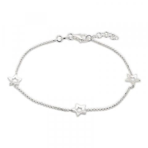 Enkel stjärna armband i silver