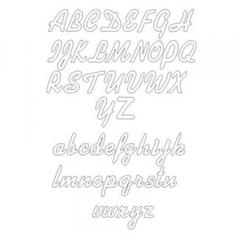 Fin Namnhalsband med hänge i silver