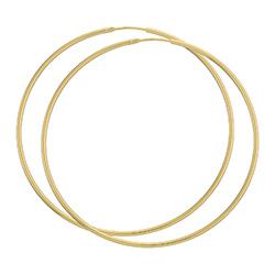 62 CM BNH creoler örhängen i 14 karat guld