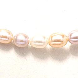 45 cm pärlakedja med sötvattenspärlor.