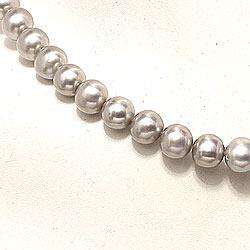 38 cm sötvattenspärlor halsband med sötvattenspärlor.