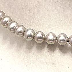 45 cm pärlakedjor för kvinnor med sötvattenspärlor.
