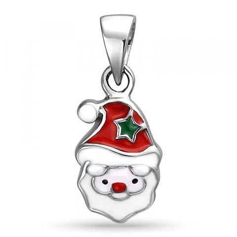 Smart jultomte hängen i silver